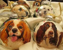 give the unusual consider hand painted dog holiday balls pet