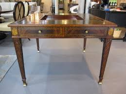 maitland smith game table maitland smith mahogany game table item 3131 024 call eisenhower