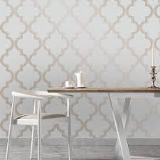 Tempaper Wallpaper | tempaper bronze grey marrakesh wallpaper ma083 the home depot