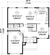 contemporary style house plan 4 beds 2 00 baths 2144 sq ft plan