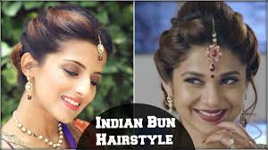 pics of bridal hairstyle beyhadh jennifer winget u0027s easy bun hairstyle for indian wedding