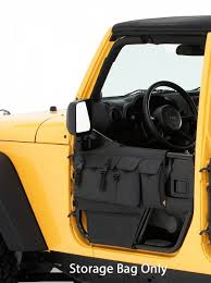 yellow jeep interior bestop element door storage bags for 76 06 jeep cj 7 cj 8 and