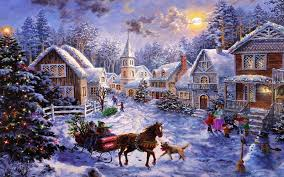 beautiful merry christmas snow scenes images u0026 hd wallpapers