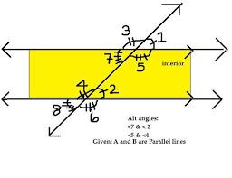 Alternate Corresponding And Interior Angles Grotongeometry Wednesday February 13th