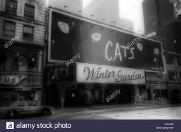 The Winter Garden Theater - cats marquee