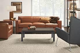 franco leather sofa strong classic leather sofa from room u0026board