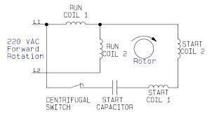 single phase motor wiring diagram with capacitor start u2013 wirdig