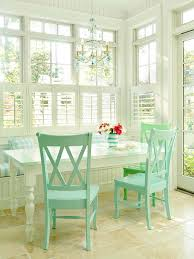 White Breakfast Nook Space Savvy Breakfast Room Banquettes Banquettes Kitchen