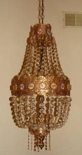 Vintage Crystal Chandeliers Vintage Crystal Chandelier Ceiling Lamp 1960s