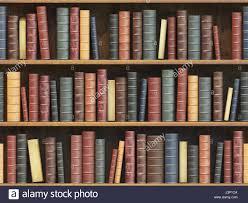 3d Bookshelf Vintage Books On Bookshelf Old Books Tiled Seamless Texture Stock