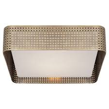 Kelly Wearstler Lighting by Precision Large Square Flush Mount Circa Lighting