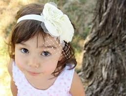 hair accessory child wedding hair accessory flower girl headband flowers