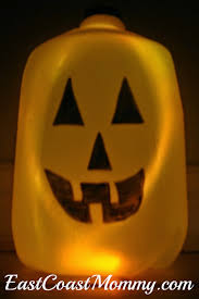 Milk Jug Crafts Halloween by East Coast Mommy Water Jug Pumpkins