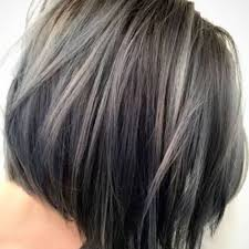 highlights for gray hair photos lowlights and highlights for gray hair best hairstyles 2018