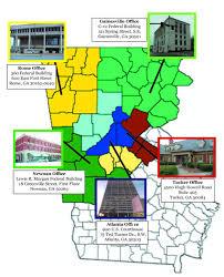 Map Atlanta Ga by Georgia Northern Probation