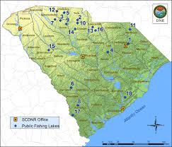 sc map scdnr state lakes