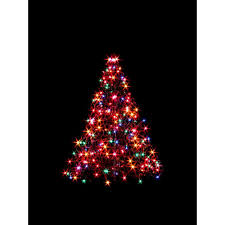 4 foot white christmas tree with colored lights outdoor light up christmas decorations 12 foot christmas tree
