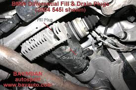 bmw diy u2013 manual transmission and differential fluid change how to
