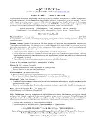 business manager sample resume 10 best best business analyst resume templates u0026 samples images on