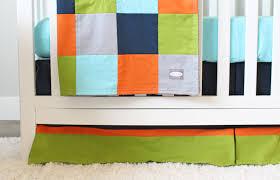 Grey And Green Crib Bedding Solid Crib Bedding Set Baby Nursery Cribset Lime Green Aqua