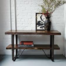 live edge table west elm console table design decorative west elm console table west elm