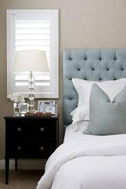 light blue tufted headboard regarding velvet design ideas