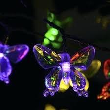color changing solar string lights led string lights color changing pics butterfly solar decorative