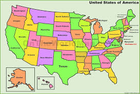 united states map with state names and capitals us map and capitals usa map states and capitals quiz inside us