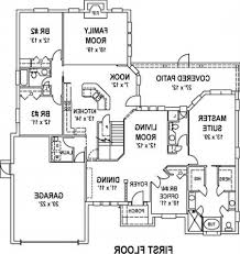house plans with floor plans low budget modern 3 bedroom house design floor plan