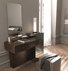 Modern White Dressing Table With Folding Mirror For Bedroom Corner - Bedroom table ideas