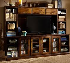 Media Console With Hutch Pottery Barn Media Console Sale 20 Off Entertainment Centers