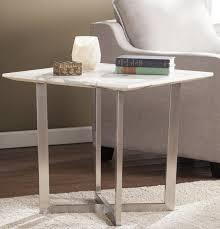 marble computer desk brayden studio rosenbalm faux marble end table reviews wayfair