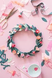 diy paper spring floral crown floral crown crown and celebrations