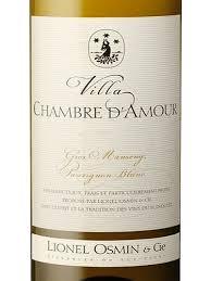 chambre d amour vin blanc lionel osmin cie villa chambre d amour blanc wine info