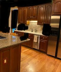 what color countertops go with wood cabinets wall color to go with reddish wood cherry cabinets