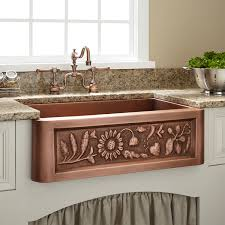 Bronze Kitchen Sink Ideas Tips Modern Copper Farmhouse Sink With Bronze Kitchen