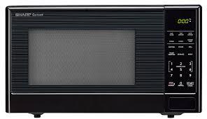 Sharpe Interior Systems Smc1111ab Black Carousel Microwave 1 1 Cu Ft Sharp