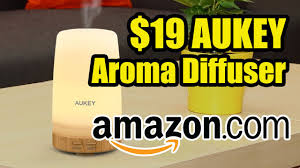 Amazon Oil Diffuser by Aukey 19 Aromatherapy Ultrasonic Diffuser With Essensial Oils