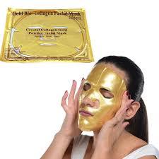 Collagen Mask collagen 24k gold mask kit gold cosmetics supplies