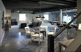 Concrete Basement Wall Ideas by Epoxy Concrete Floor Paint In White And Grey