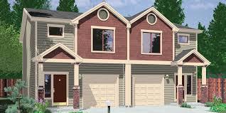 narrow lot houses narrow lot duplex house plans and zero line triplex row lots modern