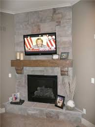 stone corner fireplace designs with tv above corner fireplaces
