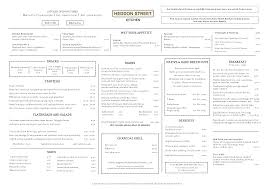 menus heddon street kitchen gordon ramsay restaurants