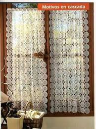 Crochet Lace Curtain Pattern This Is An Easy Free Crochet Curtain Pattern By Sue Norrad My