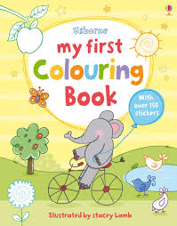 First Colouring Books At Usborne Children S Books Colouring Book