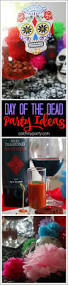 fun and easy day of the dead cocktail party ideas including