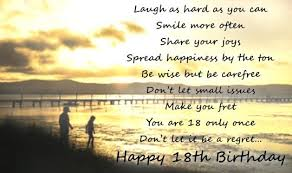 18th birthday quotes 18 year old birthday wishes