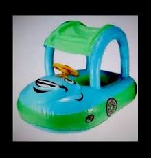 siege bebe gonflable baby float seat boat car sun shade water swim ebay