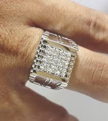 model berlian cincin berlian pria dengan model 9 mata berlian bisa anda