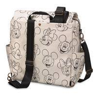 mickey and minnie mouse sketch backpack diaper bag by petunia